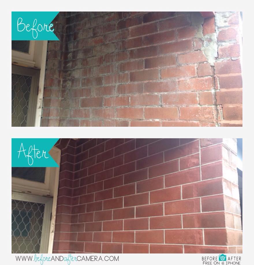 Brickwork Tuckpointing.