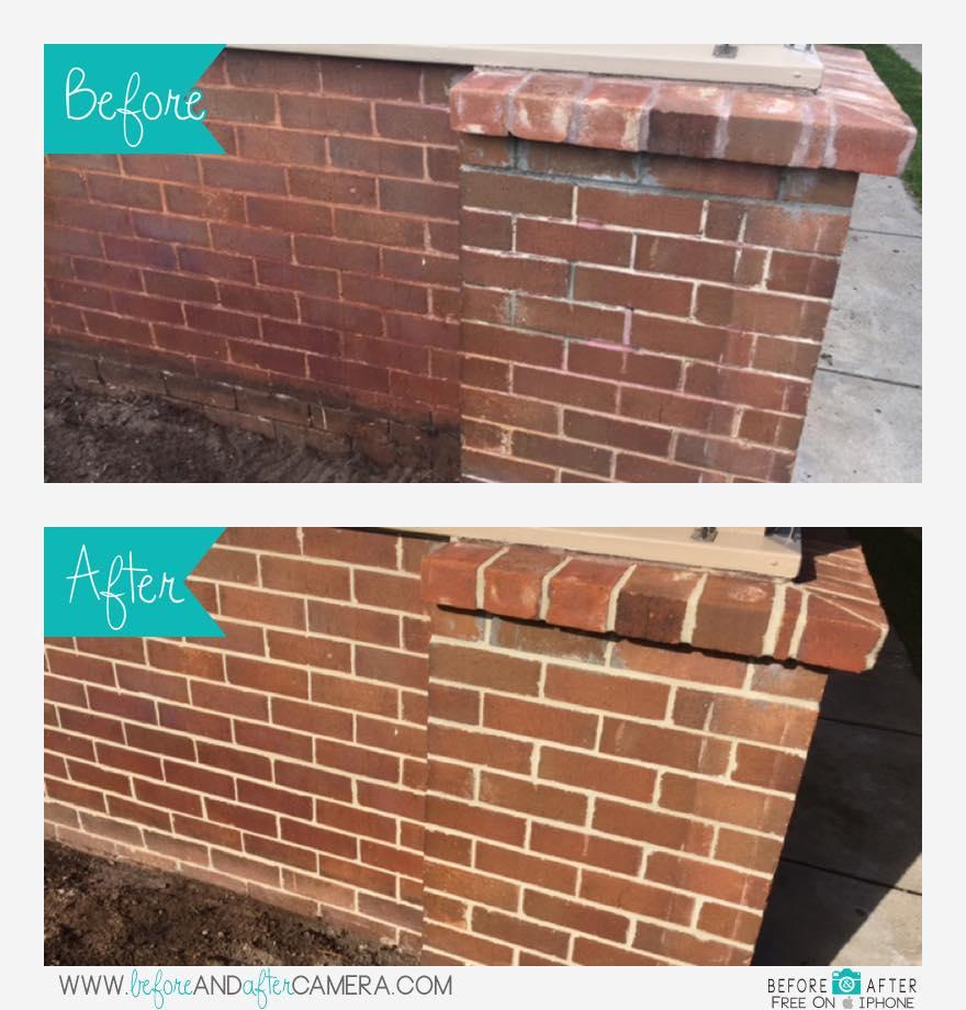 Repointing Bricks