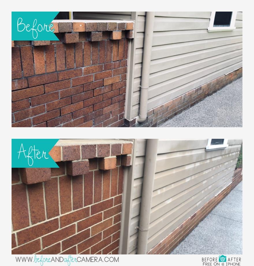 New Repointing to bricks, Jenner Pie, Hamilton South, Newcastle, NSW, Australia